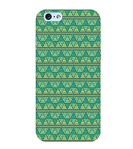 Colourful Pattern 3D Hard Polycarbonate Designer Back Case Cover for Apple iPhone 6