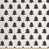ABAKUHAUS Weihnachten Gewebe als Meterware, Tannenbaum