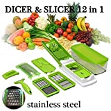Zalak All In One Chipser/ Slicer & Grater (Chopping & Slicing For Cheese, Vegetable, Nuts, Fruits & Many More) With Container