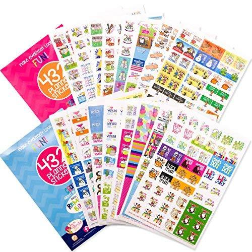 Urlaub Verkauf. 864Planer Aufkleber Bundle Set BUSY Mom + jeder Gal Collection für jeden Kalender, Planer und Organizer