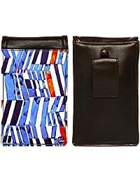 Nutcase Designer Travel Waist Mobile Pouch Bag For Men, Fanny Pack With Belt Loop & Neck Strap-High Quality PU... - B075N69ZJT