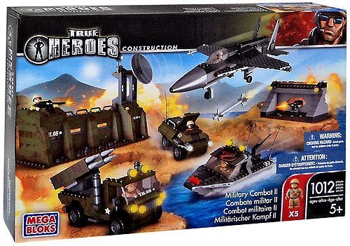 True Heroes Mega Bloks Set Military COMBAT II by True Heroes