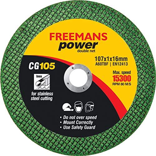 FREEMANS Power Green Cut Off Wheels 4-Inch (Set of 50 Pieces)