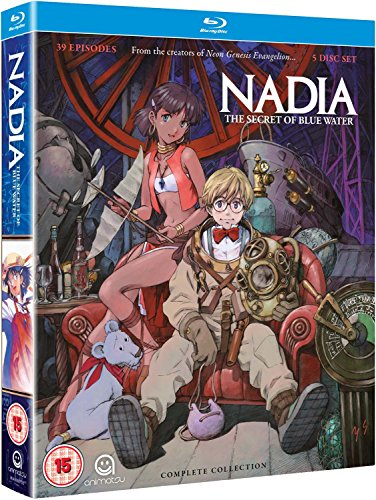 Nadia: Secret Of The Blue Water - Complete Series Collection Blu-Ray [Edizione: Regno Unito] [Import italien]