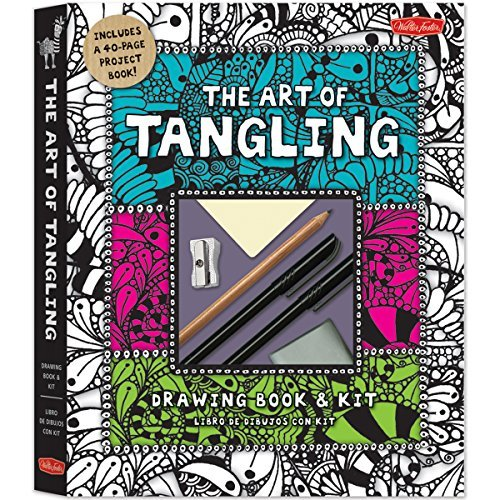 The Art of Tangling Drawing Book & Kit: Inspiring drawings, designs & ideas for the meditative artist by Walter Foster Creative Team (2014-01-15)