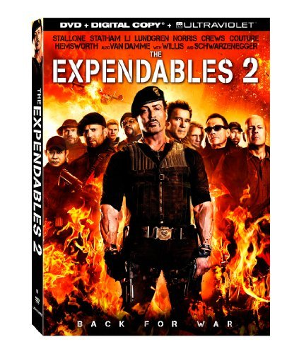 The Expendables 2 [DVD + Digital Copy + UltraViolet] by Sylvester Stallone