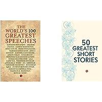 The World's 100 Greatest Speeches + 50 Greatest Short Stories (Set of 2 Books)