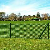 Festnight kit de Grillage clôture en Acier de Jardin clôture de Ferme Vert 1,0 x 15...