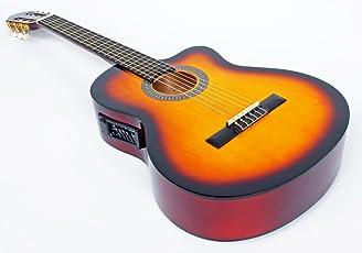 Cherrystone–42601808833674/4Chitarra Classica con Pickup EQ a 4bande Sunburst