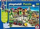 Schmidt Spiele Playmobil: Auf dem Bauernhof 60pieza(s) - Rompecabezas...