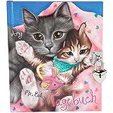 TopModel 8091–Diario, con diseño gatos Amy y Mr. Bob (idioma español no garantizado)