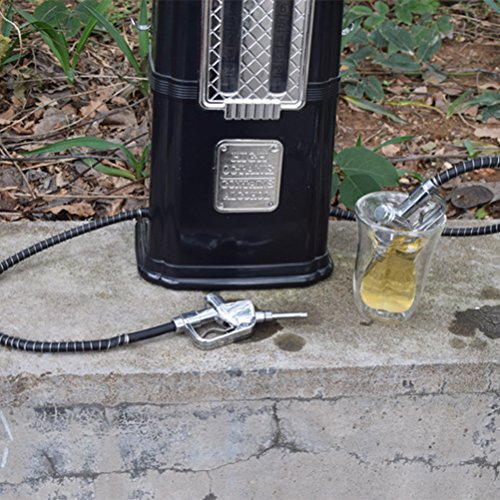 BESTONZON 1080 ml gas Pump Liquor dispenser Liquor decanter Machine dispenser di bevande alcoliche bar Tool (nero)
