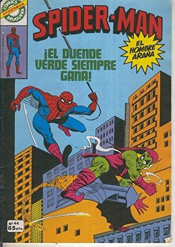 Comics Bruguera: Spiderman numero 44 (numerado 2 en trasera)