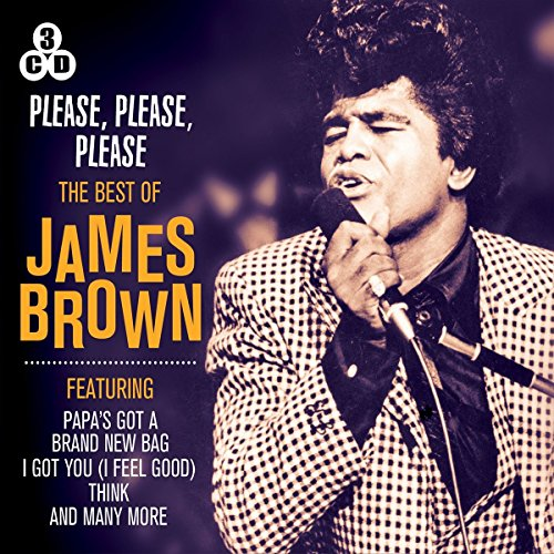 The Best of James Brown England Blue Music Box