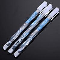 AmazDeal$ 3-Piece Waterproof Archival Ink White Gel Pen Set, 0.8mm Line Drawing Pen, Archival Ink Fine Point Tip…