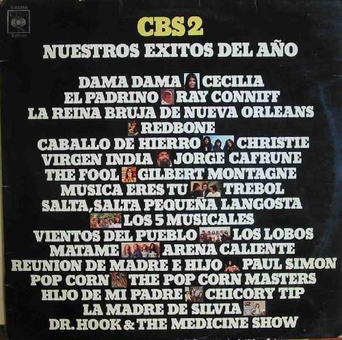 Antiguo Vinilo - Old Vinyl : CBS 2 - Nuestros Éxitos del Año 1972