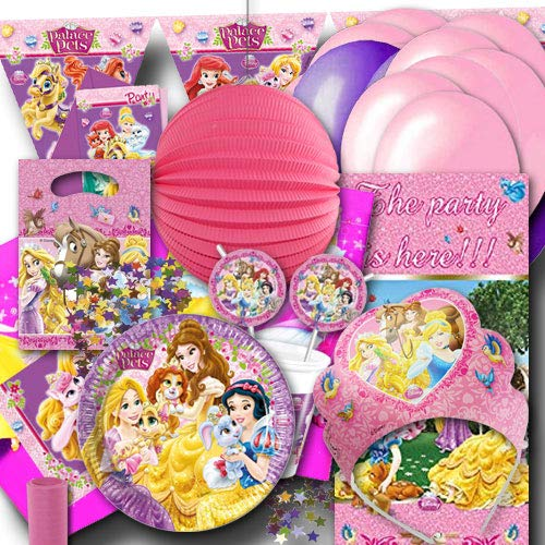 Unbekannt Kindergeburtstag Partyset Prinzessin XXL