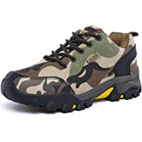 Oceansee Scarpe Casual da Uomo Autumn Military Trainer Unisex Sneakers Lace Up Fashion Camouflage Uomo Scarpe da Uomo…