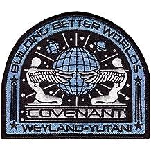 Alien Movie Prometheus Covenant Weyland Corp Crew Uniform Cosplay Patch Iron On Parche Bordado Termoadhesivo by Titan One Europe