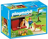Playmobil 6134 Country Golden Retrievers With Toy