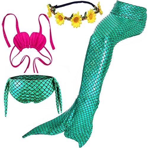 ONMET Baby Kinder Floatinganzug mit abnehmbarer Float Verstellbarer einteiligen Badebekleidung Auftrieb für Mädchen Jungen Alter 4-10Jahre Kleinkinder Swimtrainer (M(6-8Y), (Anzug Kostüm Tragen Billig)