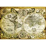 WORLD MAP Historical Poster (139.70 x 99.06 cm)