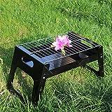 HomJo Barbacoa grill Portable plegable piernas a carbón de barbacoa parrilla de barbacoa parrilla al aire libre parrilla barbacoa Utensilios 3-5 personas