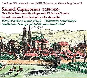 Geistliche Konzerte-Sänger & Gambe