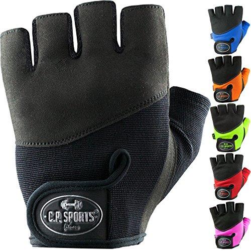 C.P. Sports Iron-Handschuh Komfort farbig Trainingshandschuh Fitness Handschuhe für Damen und Herren Pink S