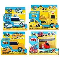 [4 Cars] Tayo The Little Bus - PAT + TOTO + NURI + FRANK