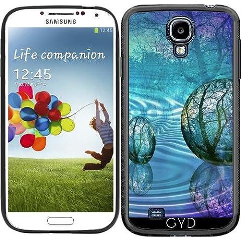 SilikonHülle für Samsung Galaxy S4 (GT-I9500/GT-I9505) - Kugeln by minx267