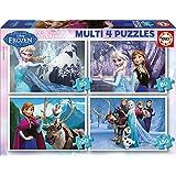 Puzzles Educa - Frozen, rompecabezas múltiple, 50-80-100-150 piezas (16173)