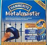 Hammerite Metalmaster, Farbpistole, Farbspritzpistole, inkl. 4 Duracell Baterien