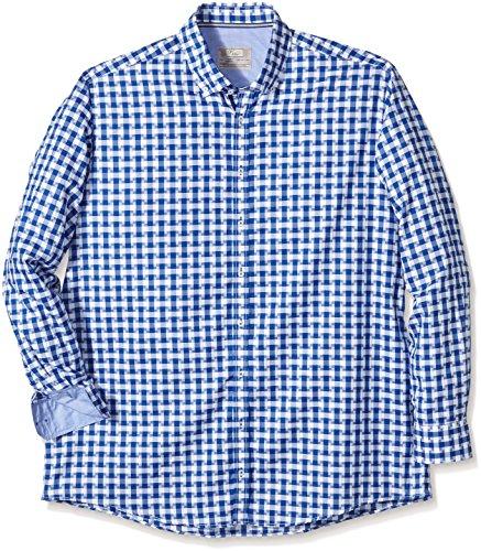 Venti Herren Freizeithemd 162414100 Blau (blau 100)