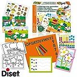 Diset - A1504345 - Atelier Coloriage Et Gommette