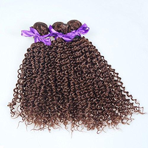 Boucles petit rideau noir amour vrais cheveux Rideau Inde Malaisie Pérou cheveux ombre 100 % vrais cheveux,24 inch