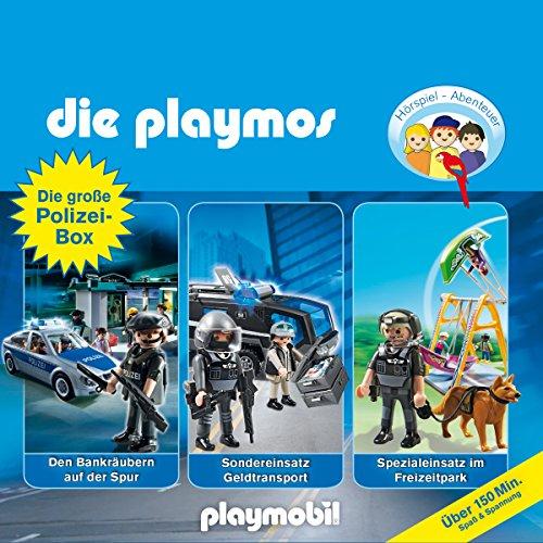 Die Playmos - Die große Polizeibox (Original Playmobil Hörspiele) (Große Weihnachtsbaum-box)