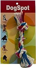 Dogspot Cotton Bone Rope Toy, Medium