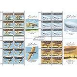 Gibraltar 1383-1386 Sheetlet (completa.edición.) 2010 aviación (sellos para los coleccionistas)