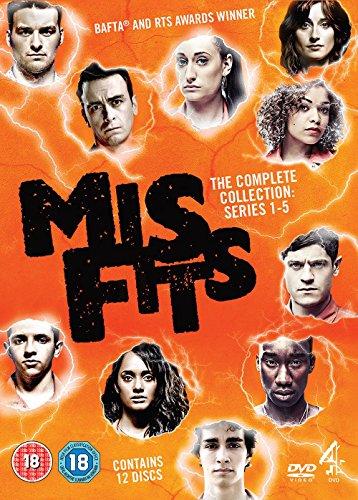 Misfits: Series 1-5 [Edizione: Regno Unito]