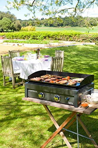 Campingaz Gas Plancha L, 2 Burner Tabletop Barbecue