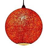 #6: Salebrations Hanging Ball Lamp Shades With Yarn