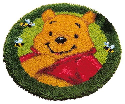 Vervaco–Kit para cojín de ganchillo, diseño de alfombra: Winnie the Pooh, varios colores