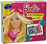 #4: Sterling Barbie 2 in 1 Puzzles, Multi Color