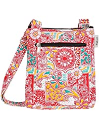 Printed Travel Bag Daily Use Ladies Sling Bag For Mobile/Wallet/Lunch Box And Cosmetics Storage Outer Fabric Printed...