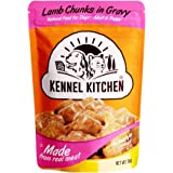 Kennel Kitchen Puppy and Adult Wet Dog Food Lamb Chunks in Gravy, 70g (Pack of 12)