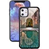 """JOYLAND Case for iPhone 11,Architectural Printing Covers Soft TPU Cases for iPhone 11,6.1""""With design,Built-in Metal Plate,He"""