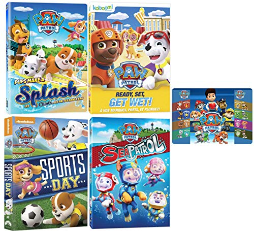 Paw Patrol: Summer and Beach Nick Jr. DVD Collection - 23 Episodes and Art Card