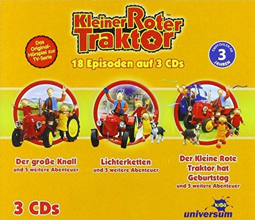 Kleiner Roter Traktor Hörspielbox 1 (CD 1-3 Exkl.