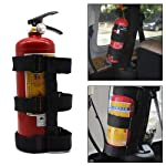 Womdee Adjustable Roll Bar Fire Extinguisher Holder For Jeeps - Premium And Easy To Install, Suitable For Jeep Wrangler...